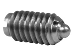 1//4-28,1 Spring with Out Lock TE-CO 53206X Plunger Pack of 5