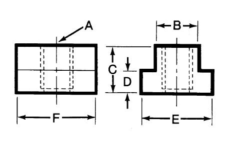 TE-CO 47401 Stainless Steel T-Nuts MFGD