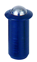 Press Fit Ball Plungers - Steel Body, SS Ball