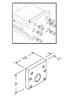 Single Station Conversion Plate for ReLock 2-Station Vise_2