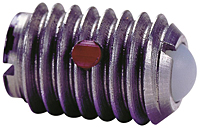 Ball Plungers Imperial, Metric - SS Body, Nylon Ball