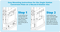 ReLock 8 Station Vise Installation Instructions