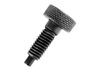 Knurled Knob Hand Retractable Spring Plungers - Steel & Stainless Steel: Non-Locking, Metric