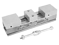 ReLock Double Station Vise with Machinable Soft Jaws